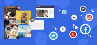 embed social media feeds on website
