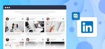 Embed LinkedIn Feeds on Website